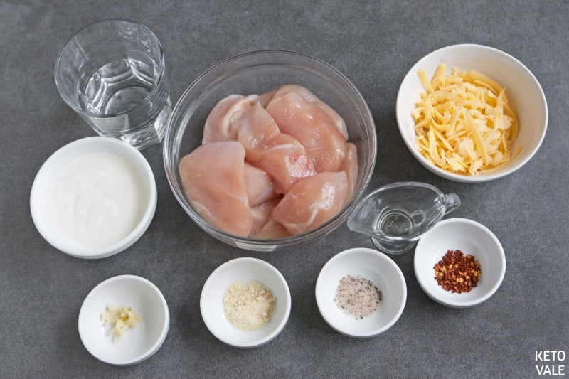 pulled chicken ingredients