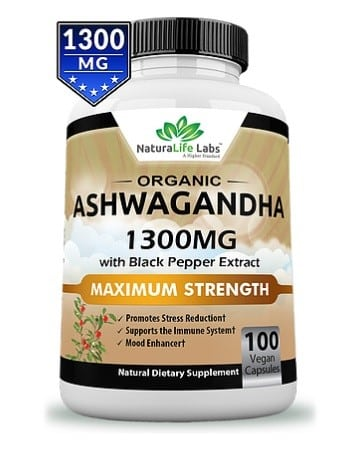 Ashwagandha Natural Life Labs