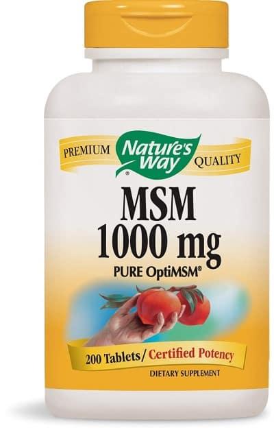 Natures Way MSM