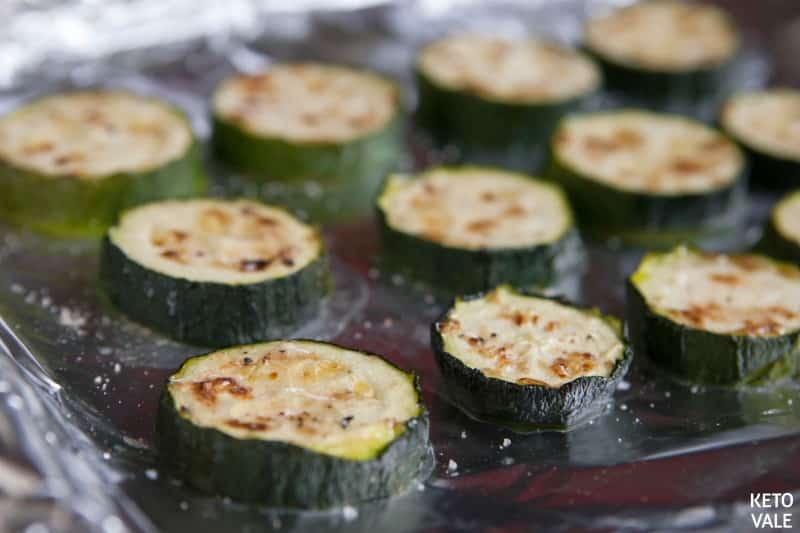 broil zucchini slices