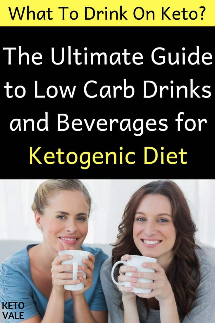 Keto-Friendly Versions of Coffee, Tea and Soda