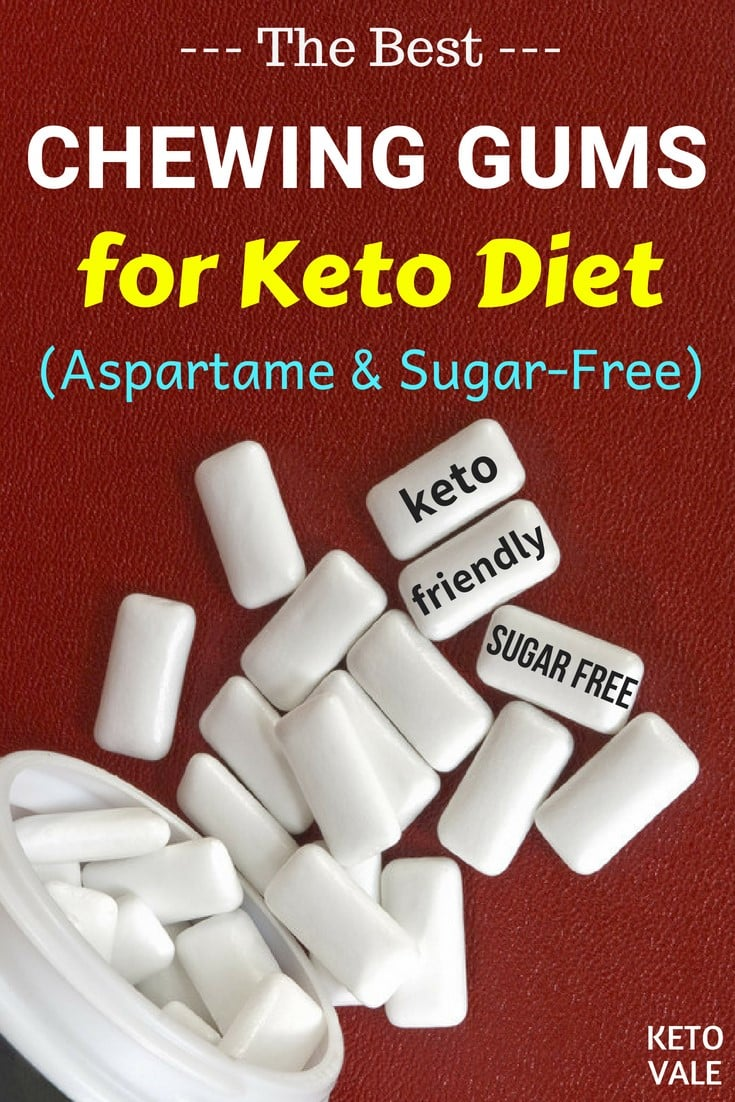 Best Aspartame-Free Sugar-Free Chewing Gums For Keto Diet