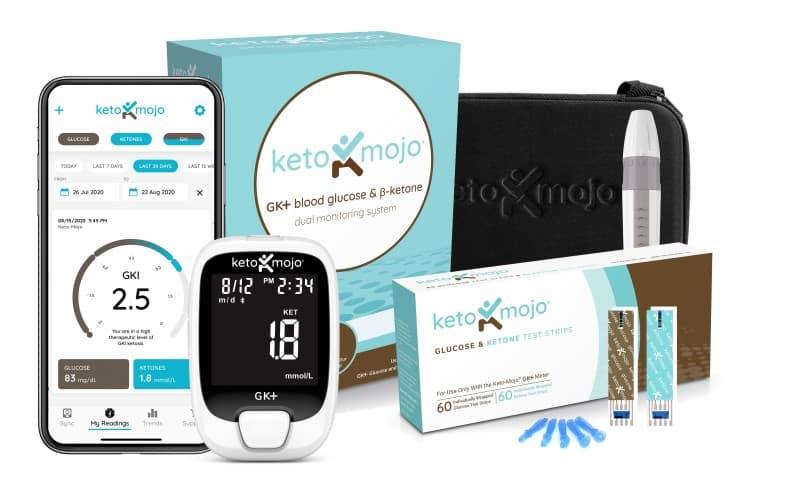 keto-mojo ketone glucose meter