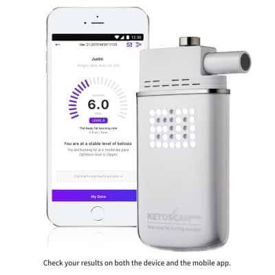 ketoscan portable breath acetone analyzer