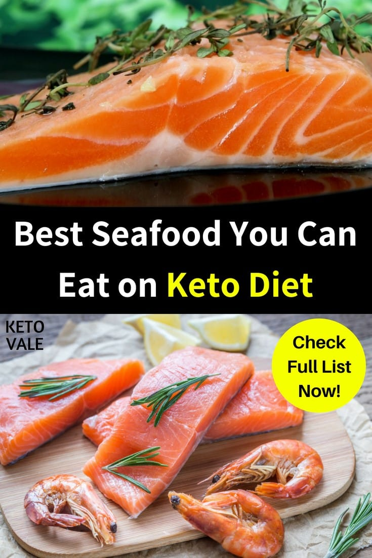 The Low Carb Keto Guide to Seafood
