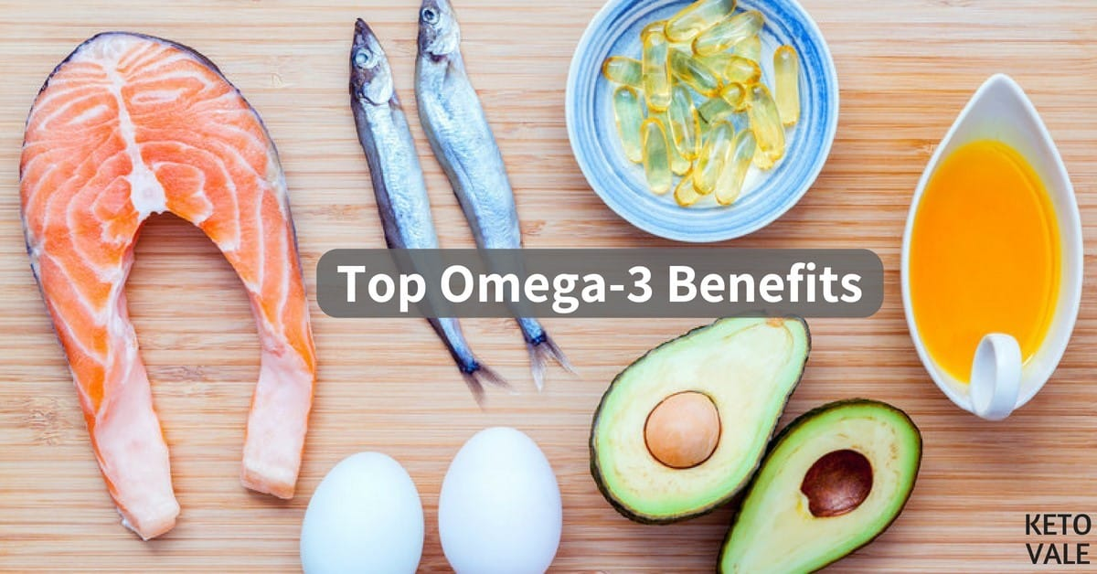 Adhd And Diet Effect Of Omega 3 Fatty >> Top 10 Scientifically Proven Health Benefits Of Omega 3 Keto Vale