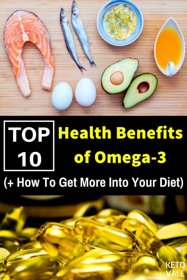 Top 10 Amazing Health Benefits of Omega-3 Fatty Acids