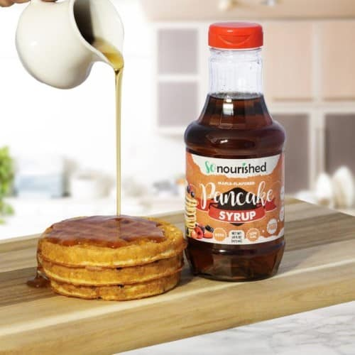 So Nourished keto pancake syrup