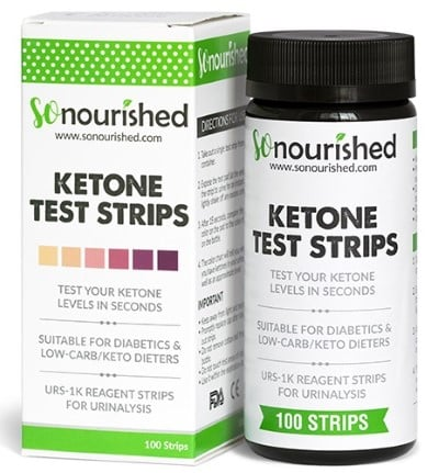 So Nourished ketone strips