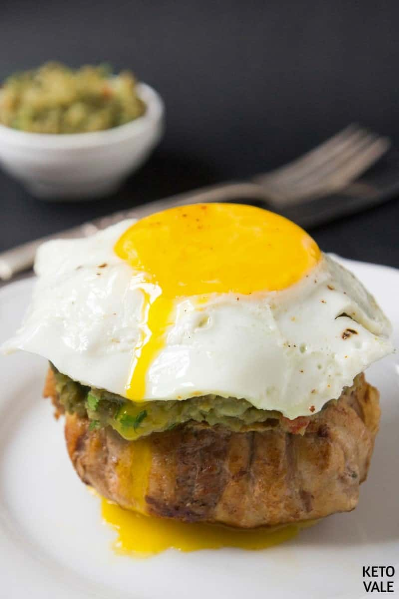 bacon egg guacamole