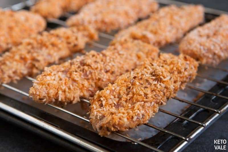 bake coconut chicken fingers