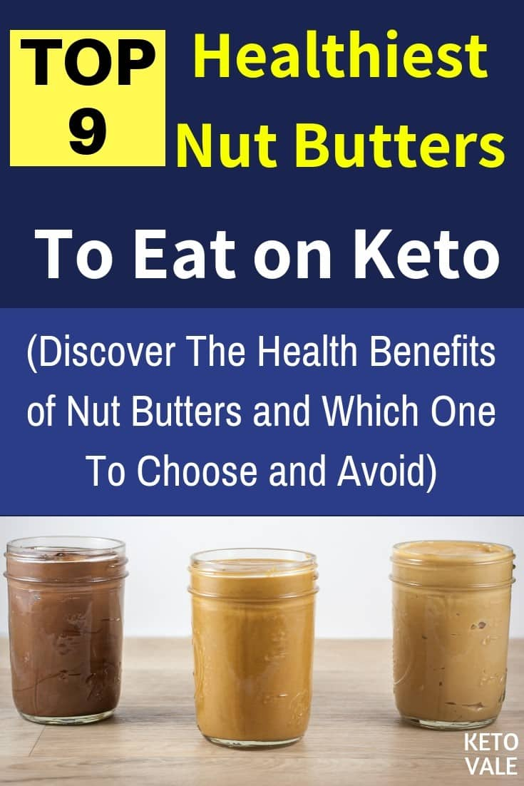 Best nut butter for keto diet