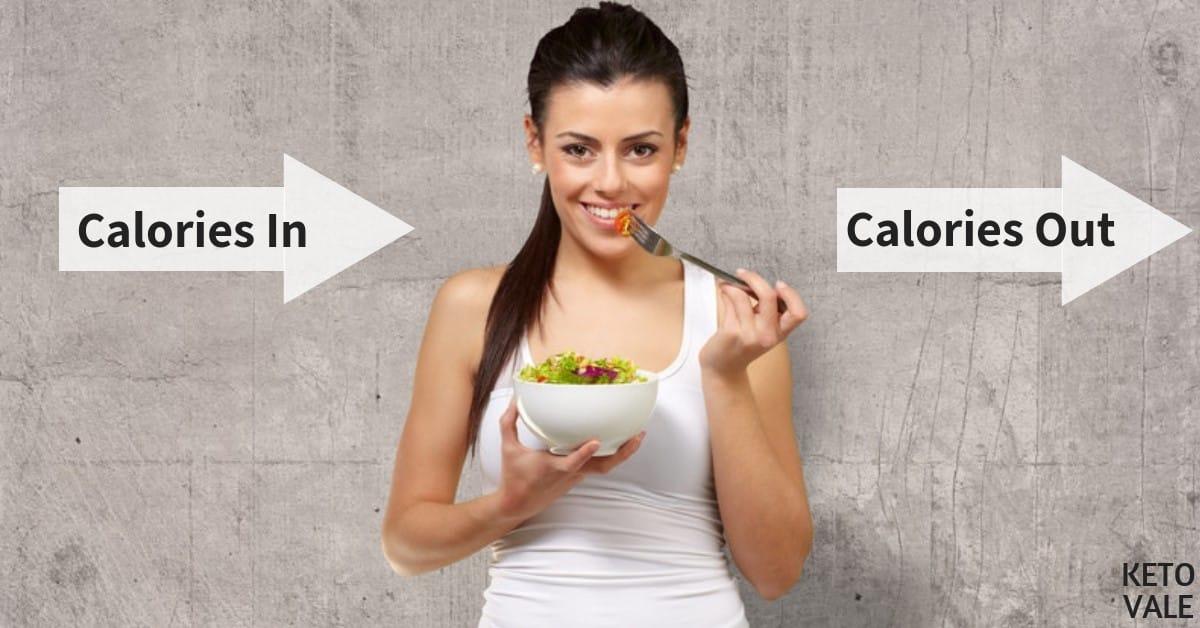 calorie deficit keto