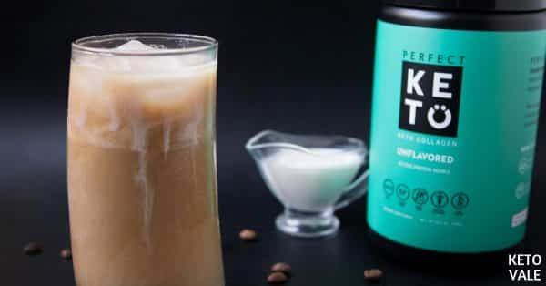 collagen iced coffee