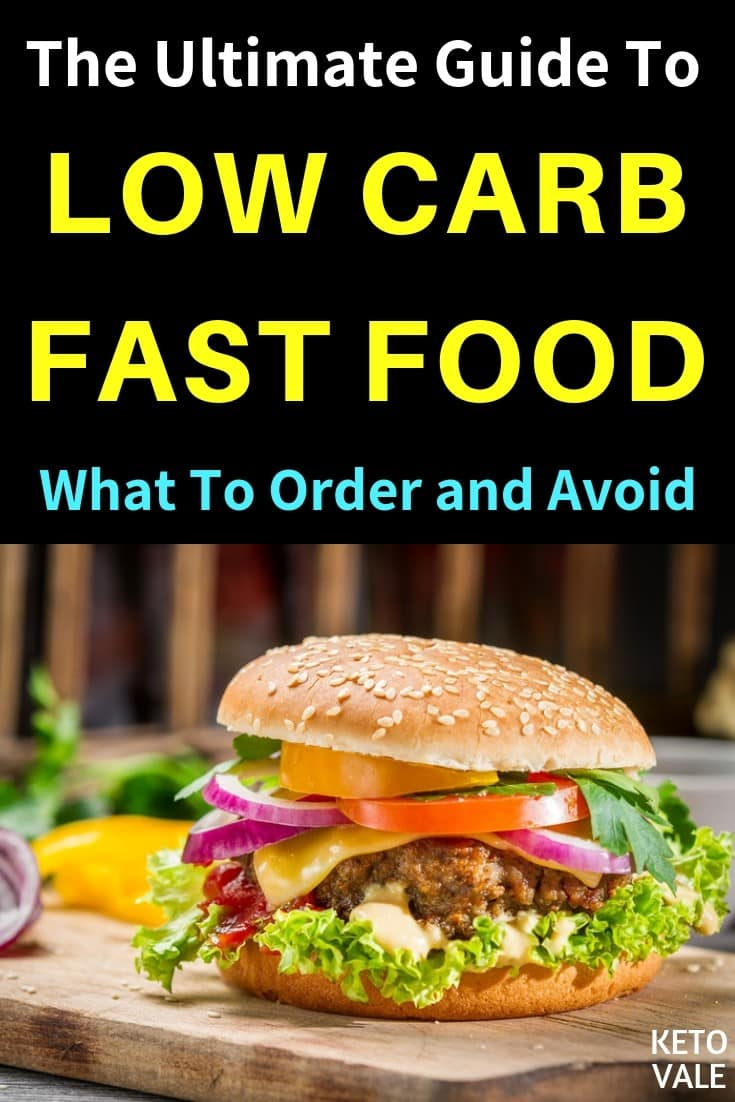 The Ultimate Guide to Low Carb Fast Food Restaurants