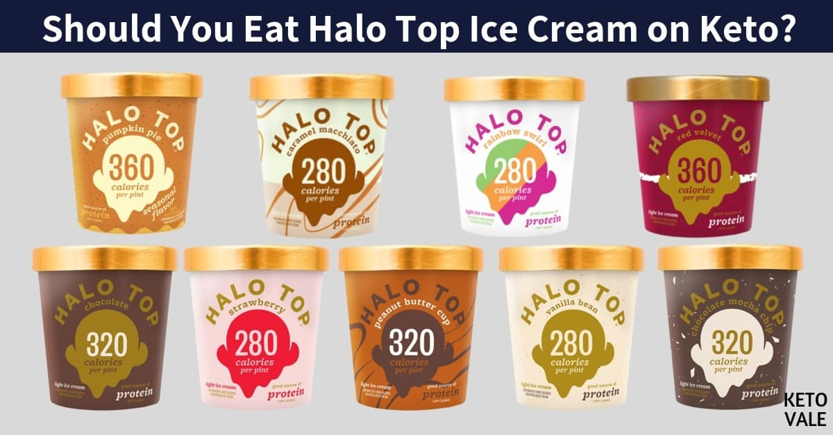 Should You Eat Halo Top Ice Cream On Keto