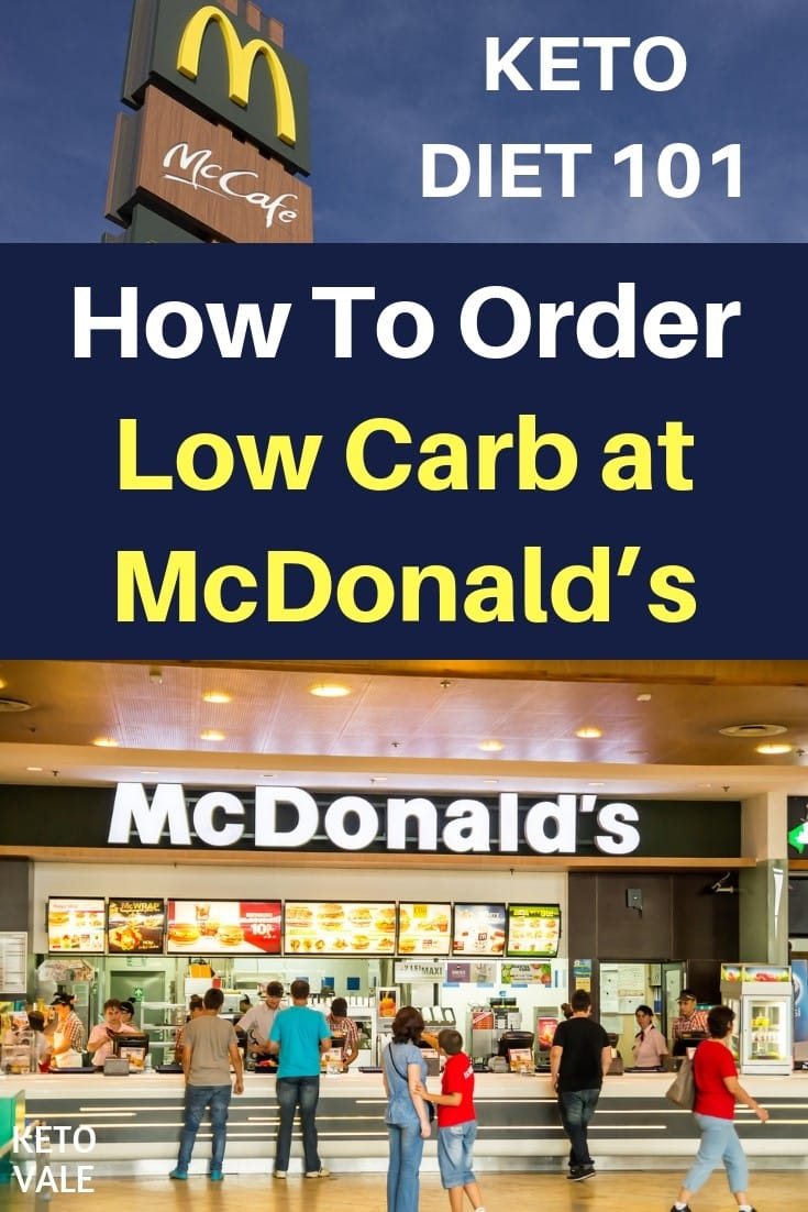Keto Diet at McDonald's - How To Order Low Carb Foods