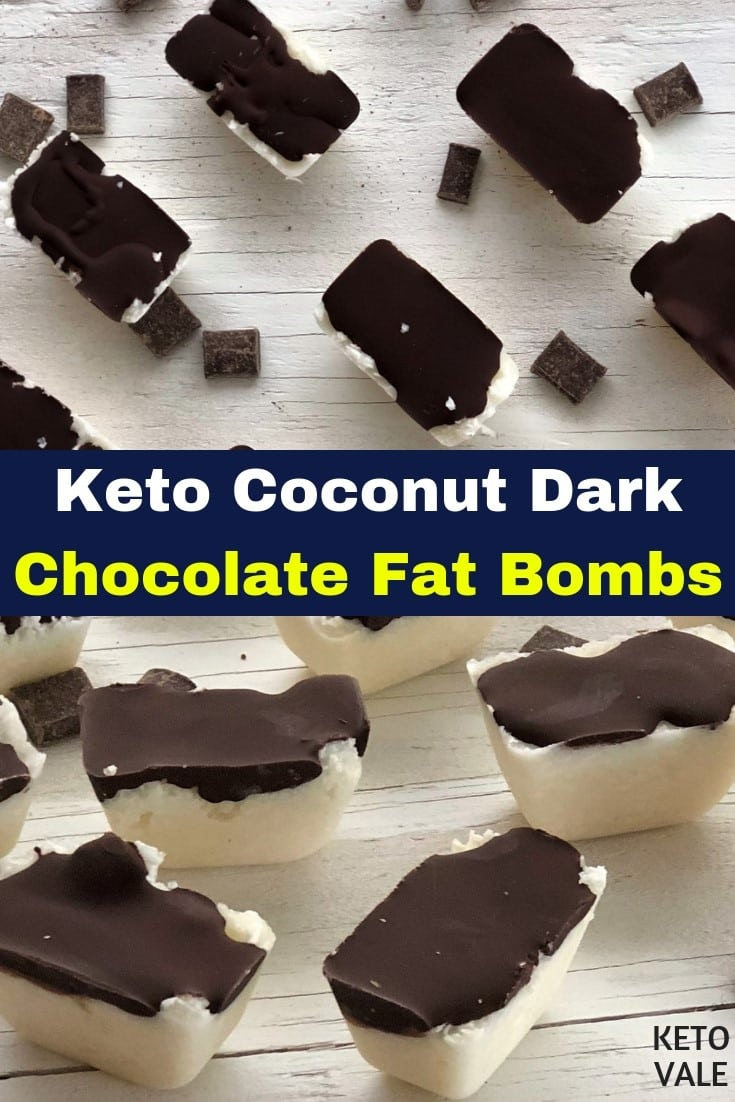 keto coconut chocolate fat bombs