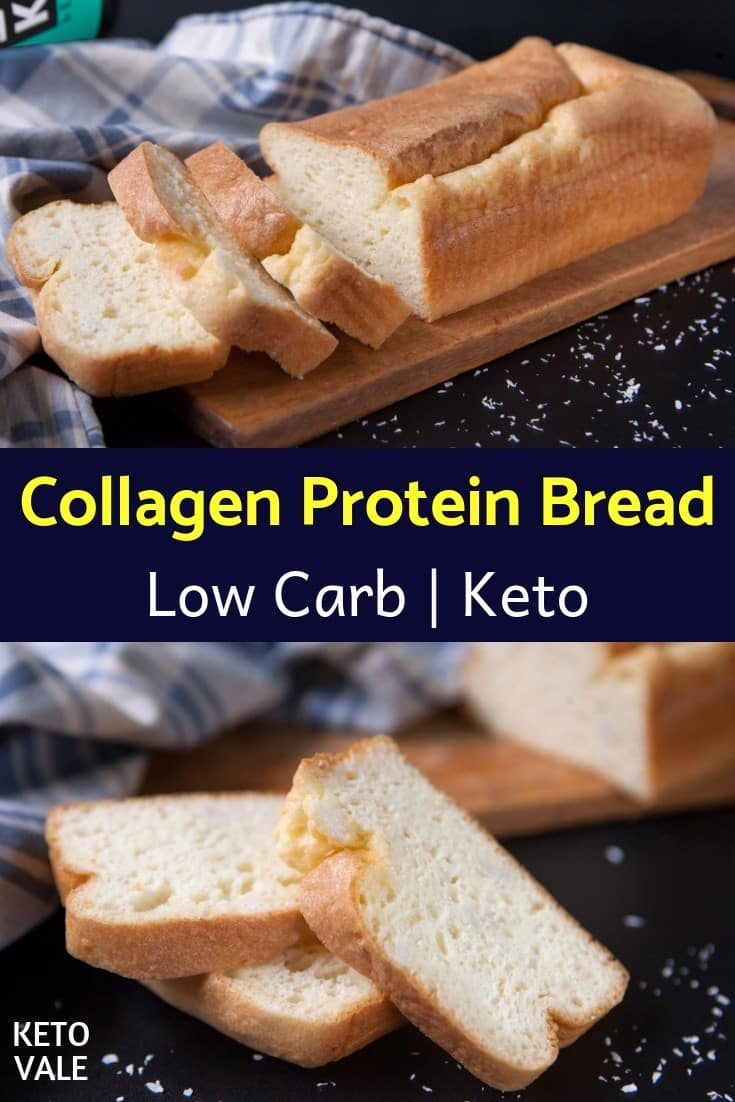 keto collagen protein bread