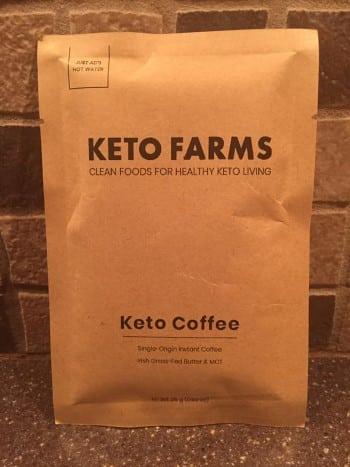 keto farms coffee powder