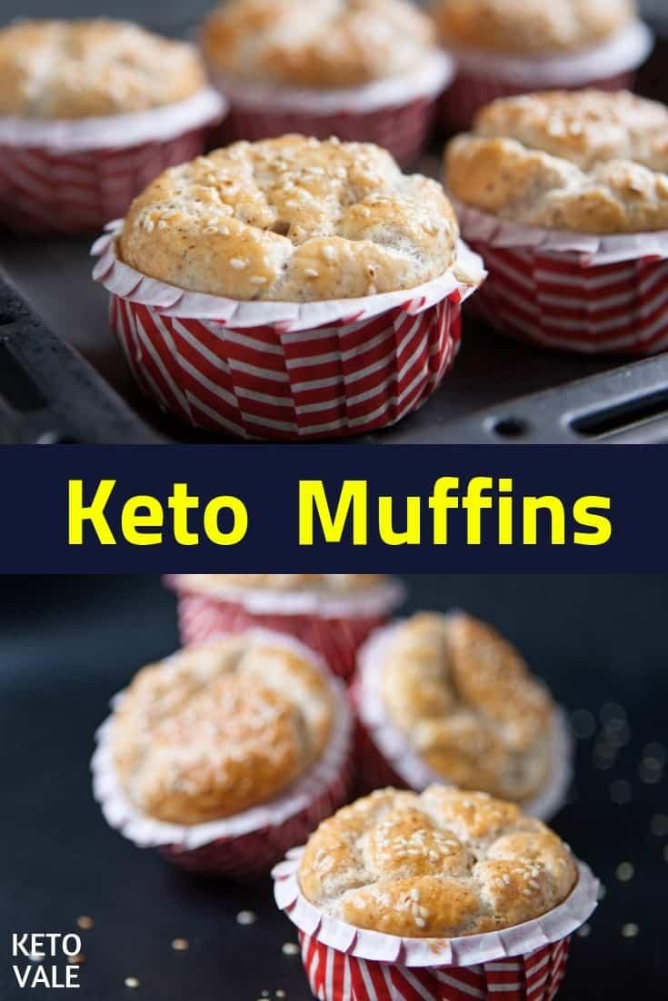 keto plain muffins