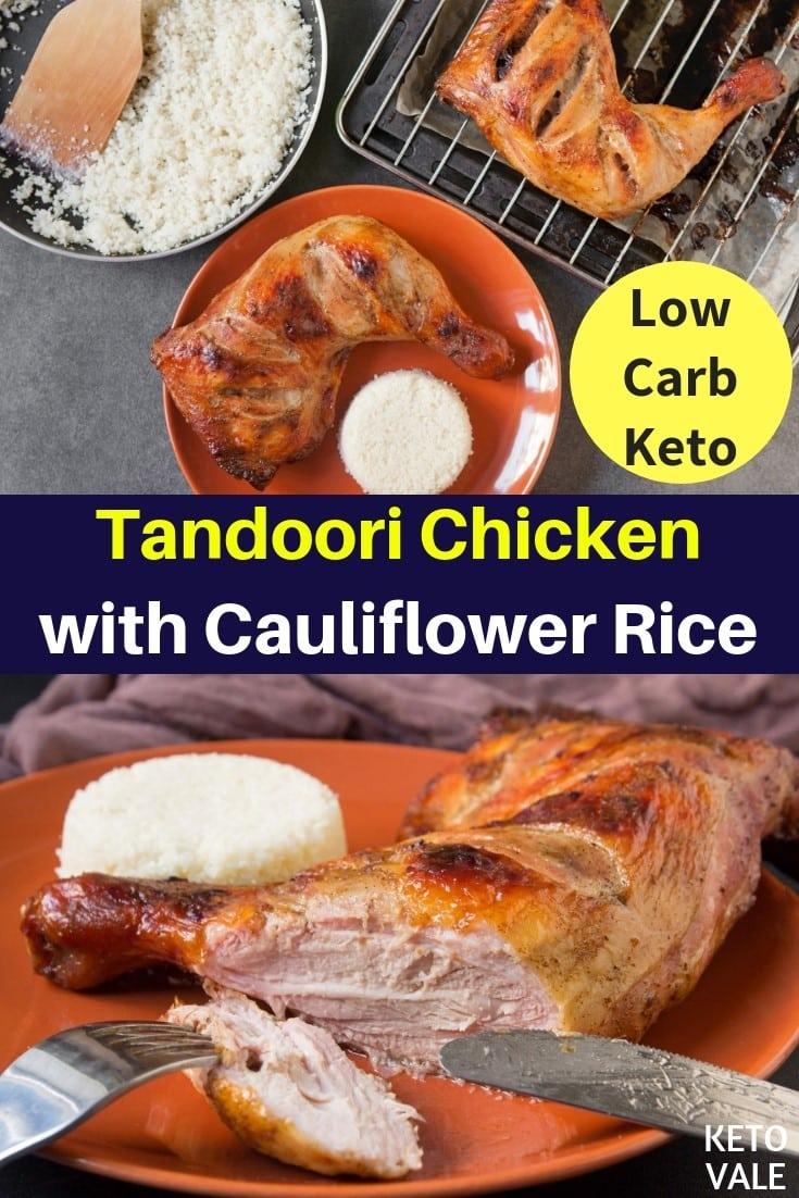 keto tandoori chicken
