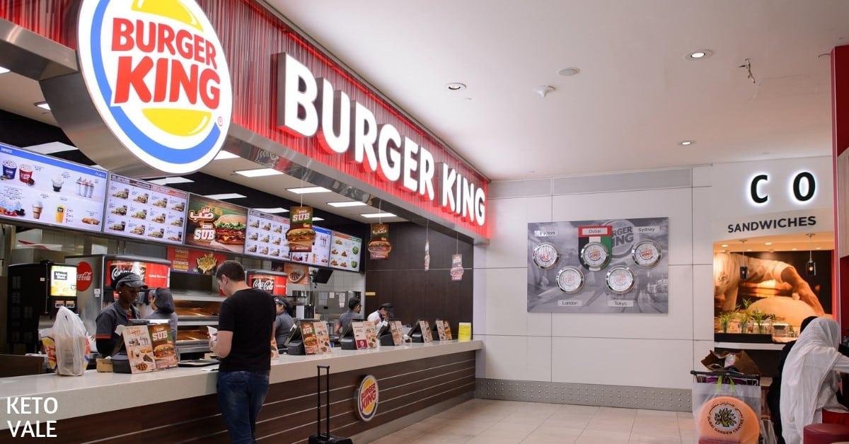 Low Carb at Burger King