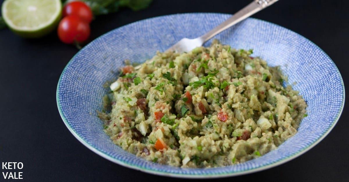 low carb guacamole