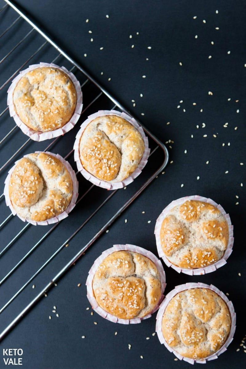 low carb plain muffins
