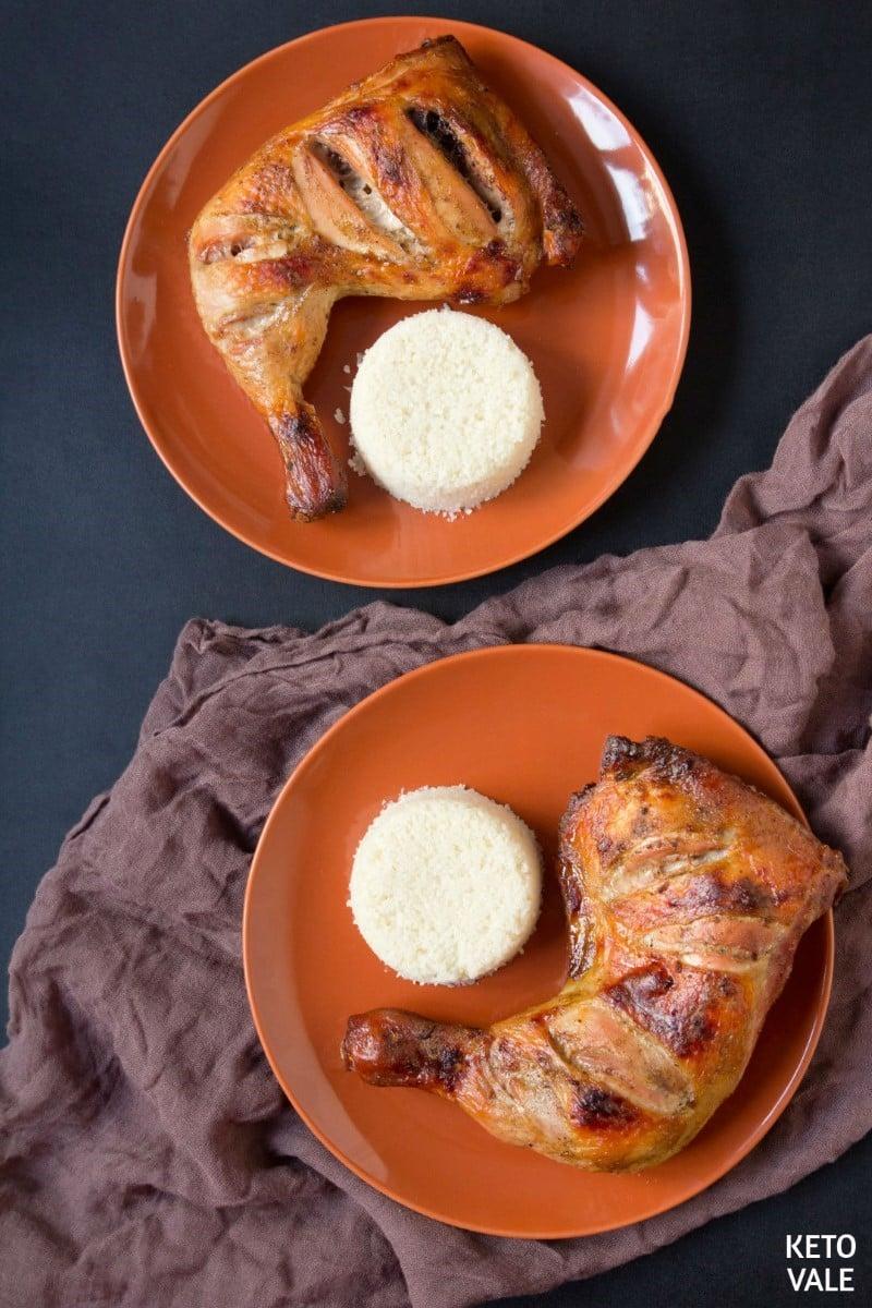 low carb tandoori chicken