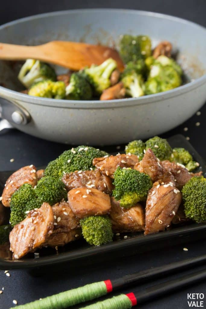 low carb teriyaki chicken