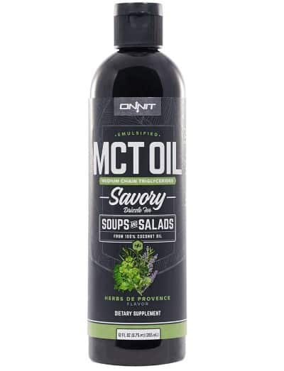 savory emulsified MCT oil