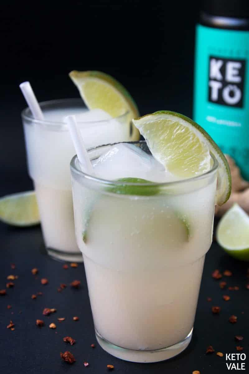 sugar free spicy ginger soda