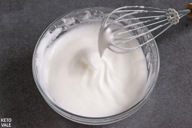 whip egg whites for bread
