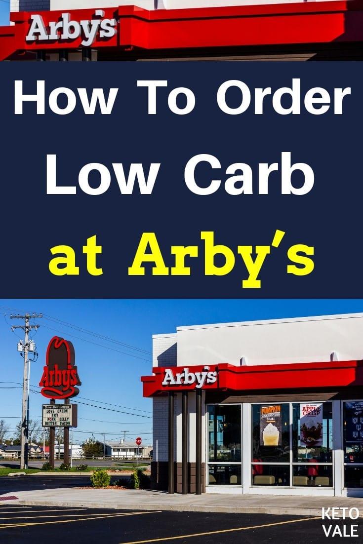 Keto at  Arby's