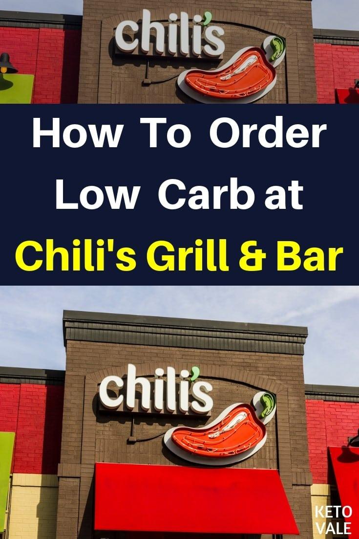keto Chili's Grill Bar