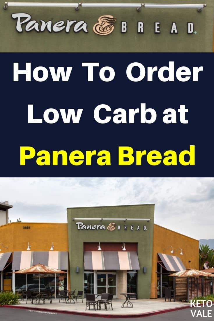 Keto Diet Fast Food Guide: How To Order Low Carb at Panera Bread