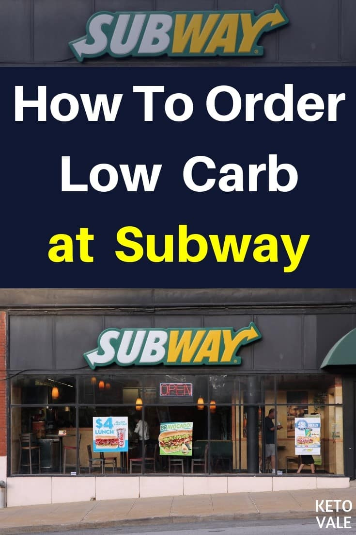 Keto Diet Fast Food Guide: How To Order Low Carb at Subway