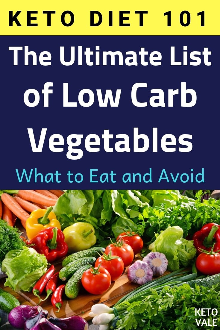 Keto Diet Food: The Ultimate List of Low Carb Vegetables
