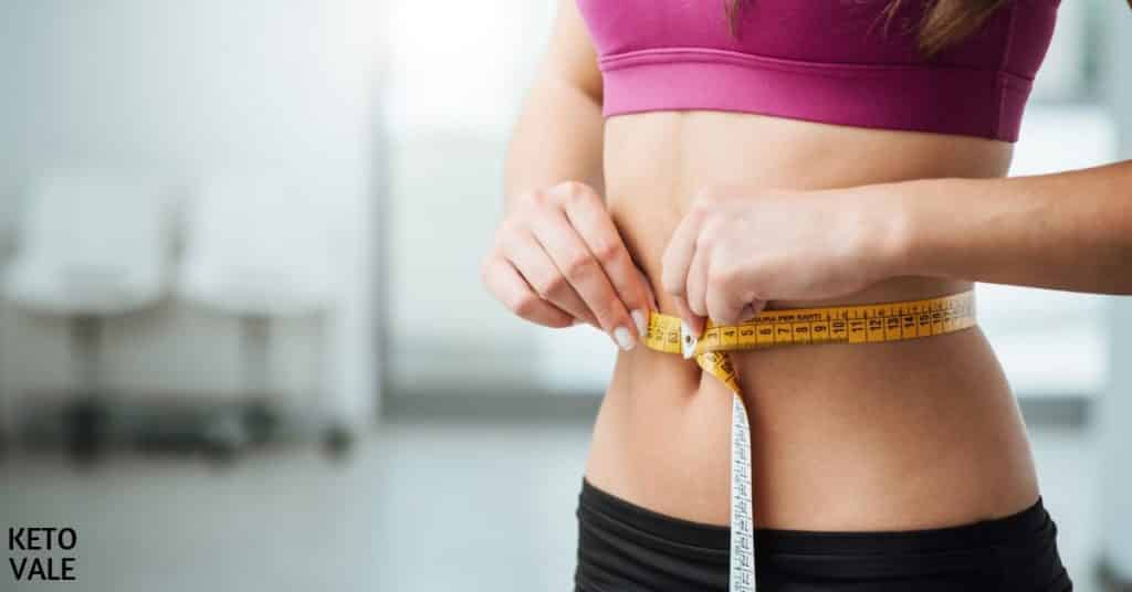 lose inches not weight
