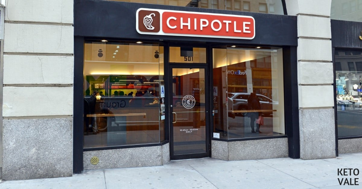 Chipotle low carb options