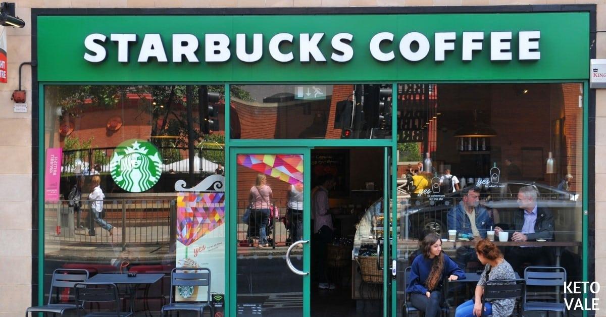 low carb Starbucks