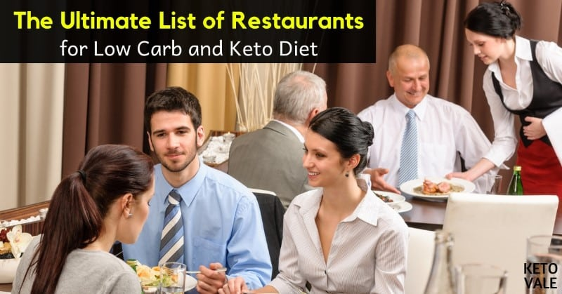 low carb restaurants