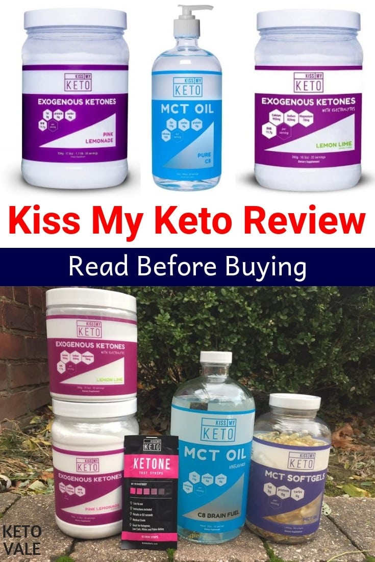 Kiss My Keto's Exogenous Ketone and MCT Oil Supplements Review