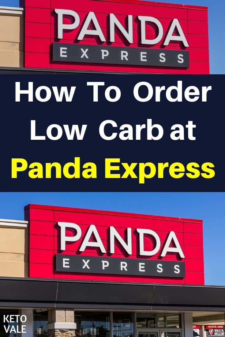 Panda Express Low Carb Options