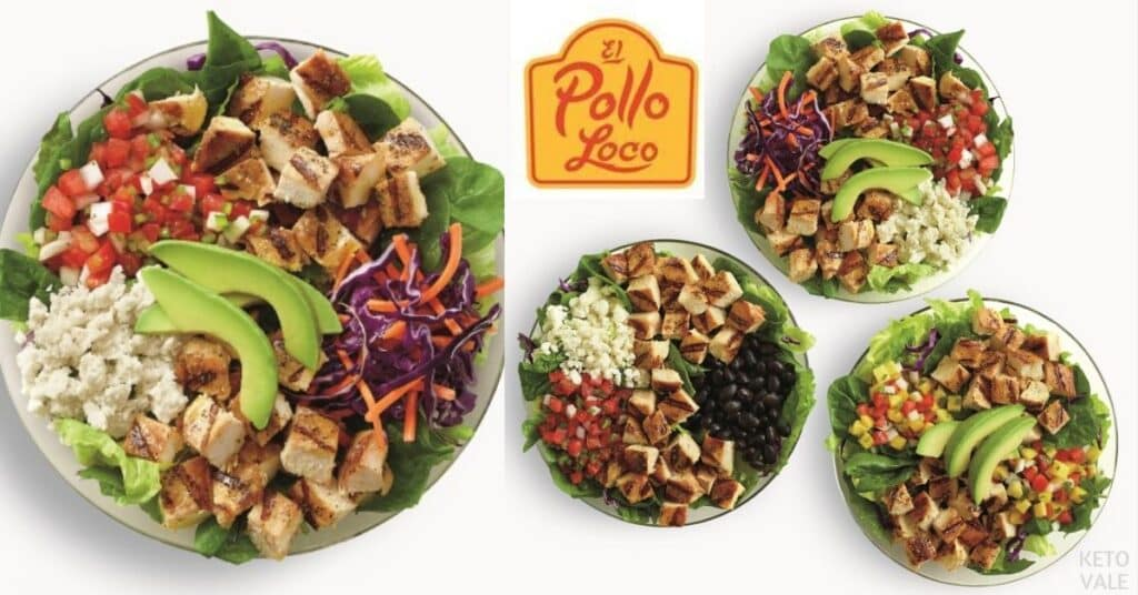 el pollo loco keto dishes