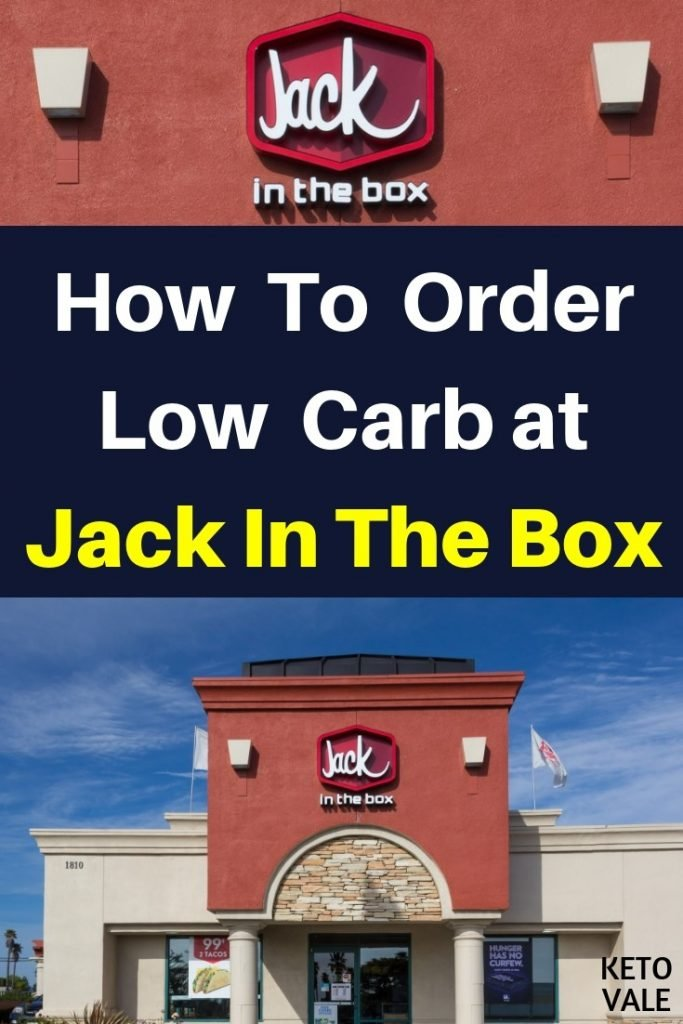 jack in the box keto options