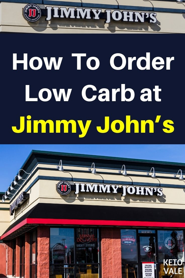 Jimmy John's Low Carb Options