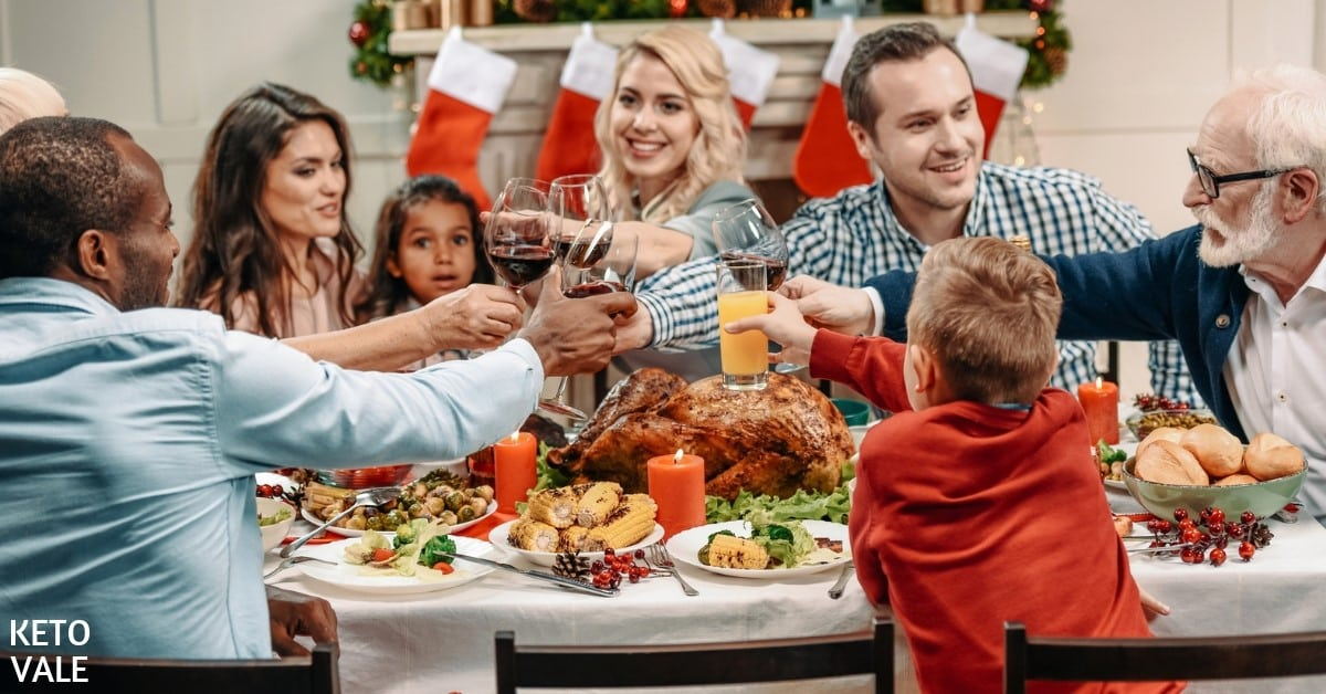 stay keto during holiday tips