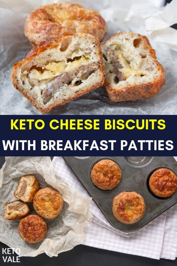 keto patties cheese biscuits